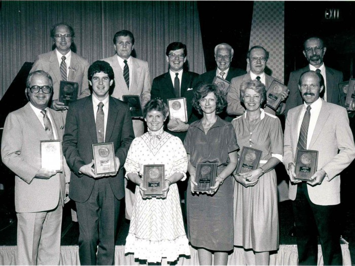 1984 Gold Medallion Winners
