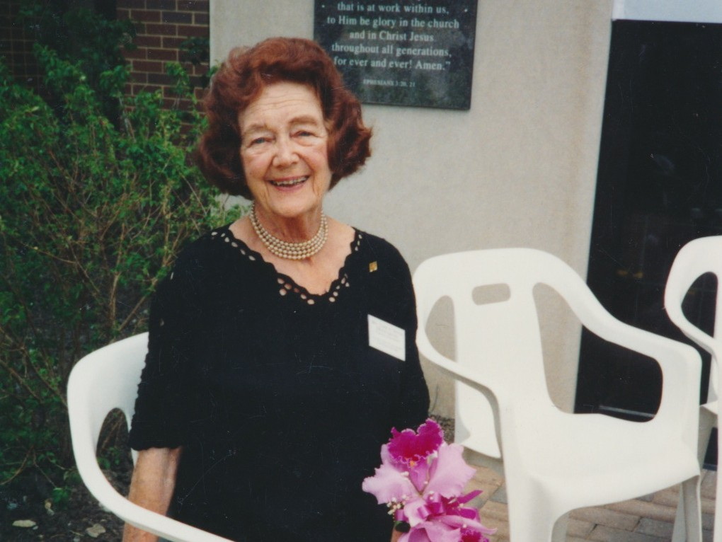 Dedication of Crossway's new facilities in 1993 –  the year of Muriel Dennis' homegoing